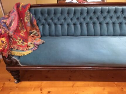 Antique early Victorian sofa