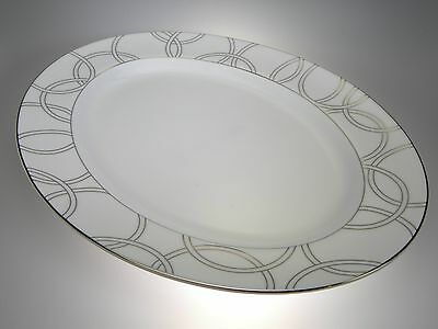 Waterford China Halo Oval Platter 15.25