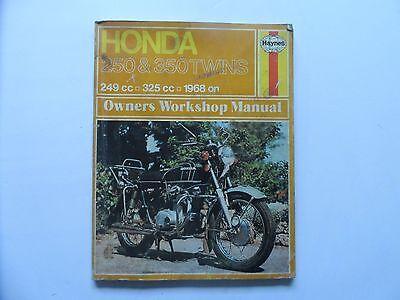Honda 250 and 350 Twins Haynes manual