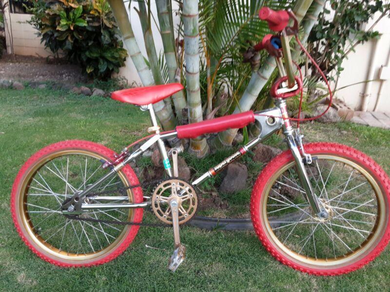 1983 Mongoose Supergoose Bmx Bike
