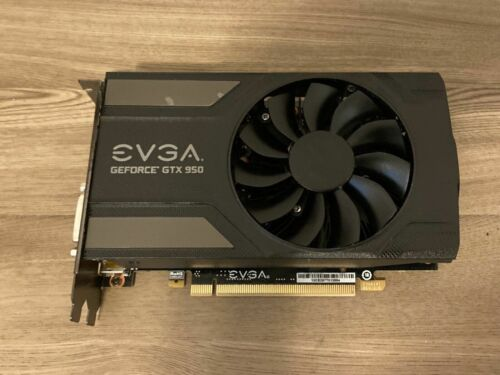 EVGA GeForce GTX 950 SC GAMING 2GB GDDR5 128-bit Video Card