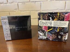 Rare! Eric Clapton Box, The Doors Box Sets - Factory Sealed