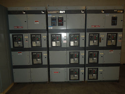 Cutler Hammer Magnum Ds Metal Enclosed Lv Switchgear 3200a Main-tie-main 4w Wgf