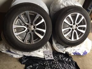 Nissan Pathfinder wheels (four set of Rims and tires)
