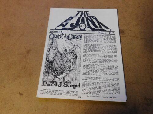The New Jinx Magic Conjuring Magazine #59 March 1967 Paul J. Siegel