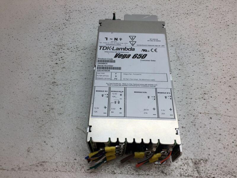 TDK-Lambda Vega 650 Series 650W 12V@12A /12V@10A/5V@8A/20V@27A/3.3V@20A PSM