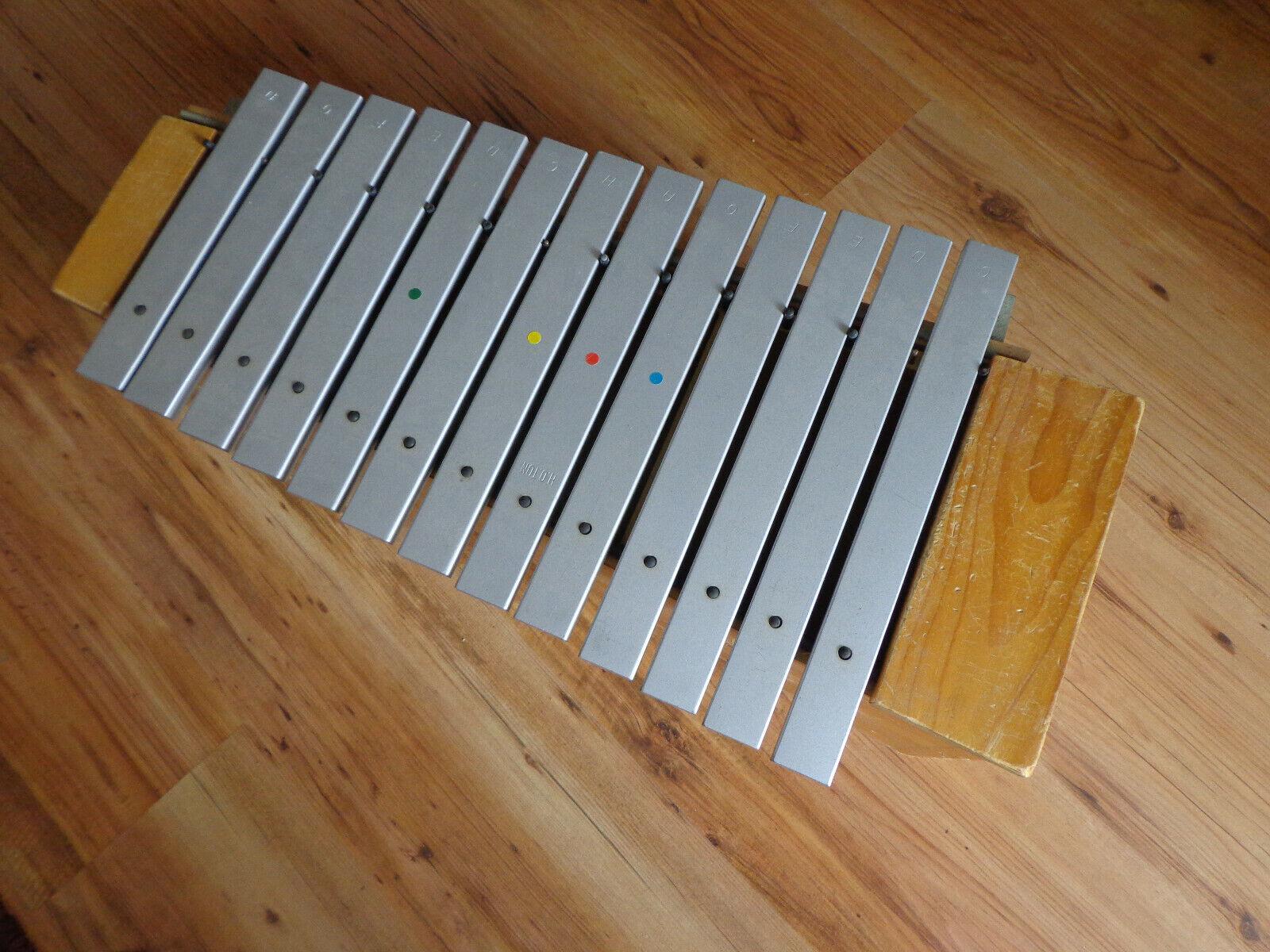Metallophon Alt Studio 49 Glockenspiel Xylophon