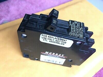 Murray 15 A Tandem Twin Circuit Breaker Mp1515 - Type Mp - 240 V  Mp1515