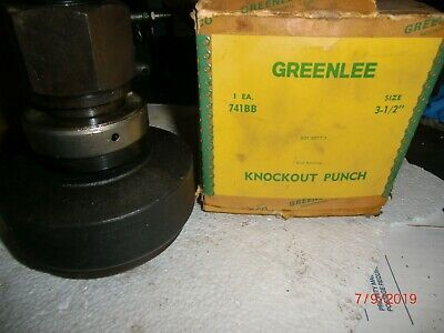 Greenlee 741bb 3-12 Round Knockout Punch New In Box Old Stock