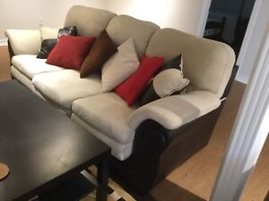 3 pieces sofa set