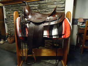 ANTIQUE-collectors-TAKE-NOTICE-WYETH-PONY-EXPRESS-horse-tack