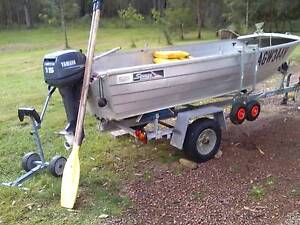 Savage boat and trailer Stroud Great Lakes Area Preview