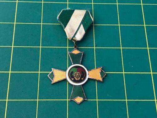 Vintage Jester Carnival Mardi Gras German Fasching Medal  03-053