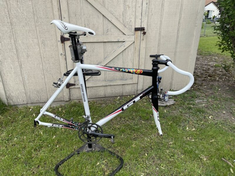 GT Jelly Belly Factory Team Road Frameset Size XL with extras