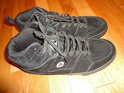 Airwalk Mens Shoes ( Mens Airwalk Royer Hi Lace Up Athletic Leather Shoes Sneakers Black Free Ship )