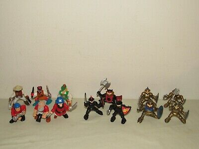 Fisher-Price GREAT ADVENTURES FIGURES 1994 - 1998 Knights Pirates Robin Hood Lot