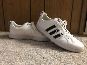 White Adidas low-cut sneakers