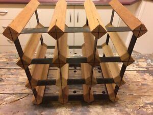 Hardwood Stackable Wine Rack