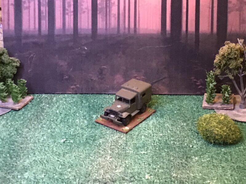 HO 1/87 Scale American WWII Dodge 1/2 Ton Radio Truck