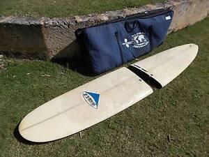 SURFBOARD VINTAGE SANTA BARBARA BISECT    CLASSIC