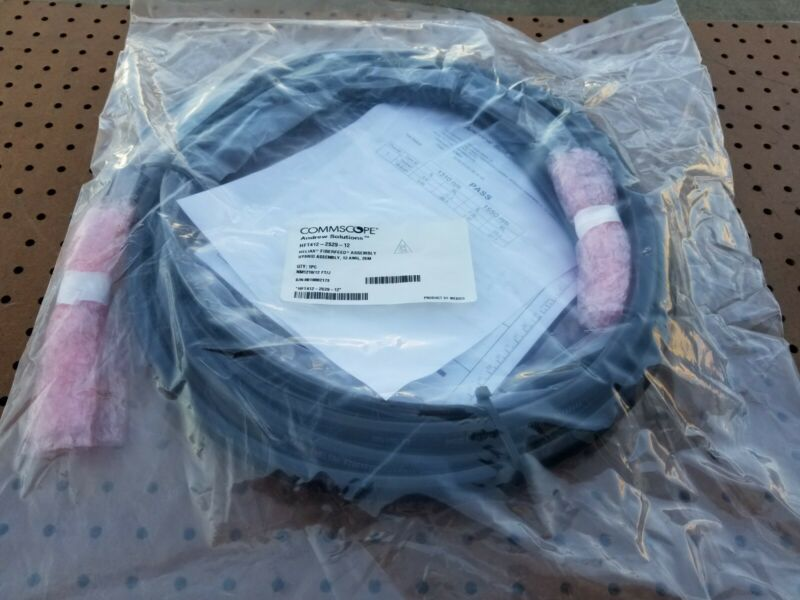 COMMSCOPE HFT412-2S29-12 HELIAX FIBERFEED ASSEMBLY HYBRID