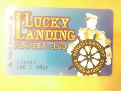 NEVADA LANDING CASINO LAUGHLIN, NEVADA LOGO SLOT CARD GREAT FOR ANY COLLECTION!