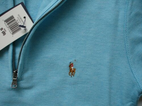 NWT Boy S / 8 - Polo Ralph Lauren 1/2 Zip Sweater in beautiful Turquoise
