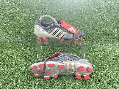 Adidas Predator Mania Gunmetal Grey Football Boots [2003 Very Rare] FG UK Size 6