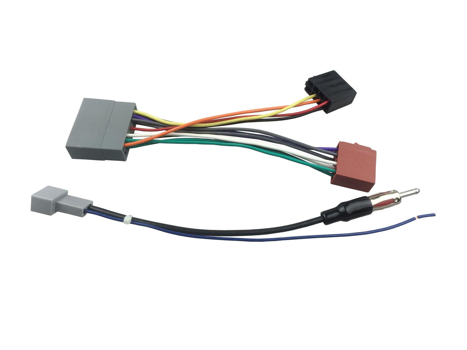 Radio Cable for Honda Civic 2006-2011 ISO Wiring Harness+Antenna Aerial Kit  | eBayeBay