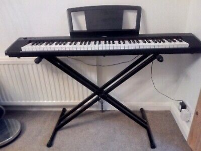 Yamaha NP-31 Piaggero electronic keyboard 76 keys with stand excellent condition