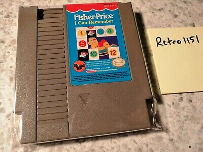 Fisher-Price: I Can Remember (Nintendo Entertainment System, 1990)