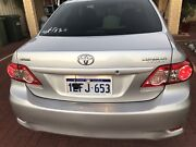 Late 2013 Toyota Corolla ZRE152R Ascent silver pearl 4 speed Auto Seville Grove Armadale Area Preview