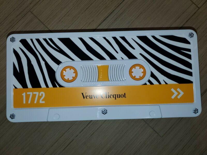 Veuve clicquot cassette Zebra Bottle Holder Tin
