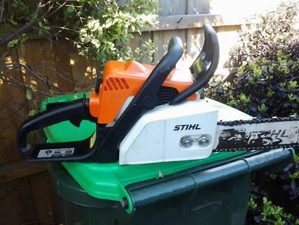 stihl chainsaw ms 180 Hobart CBD Hobart City Preview