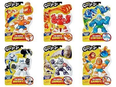 Games And Toys (Heroes of Goo Jit Zu Action Figures - All models! NEW! Stretch Squish and)