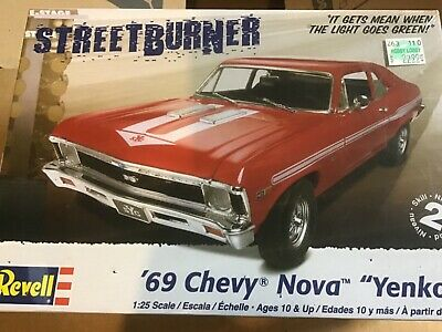 REVELL 85-4237 1969 CHEVY NOVA YENKO 1/25 Model Car Mountain KIT FS