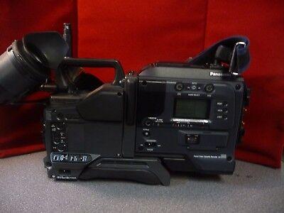 Sony DXC-D35WS Camera with Panasonic AJ-D90P DVCPRO 50 Camera Adapter --7992