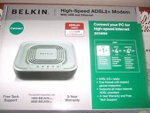 BELKIN High speed ADSL2 Modem. R U not ready to change to NBN Caboolture Caboolture Area Preview