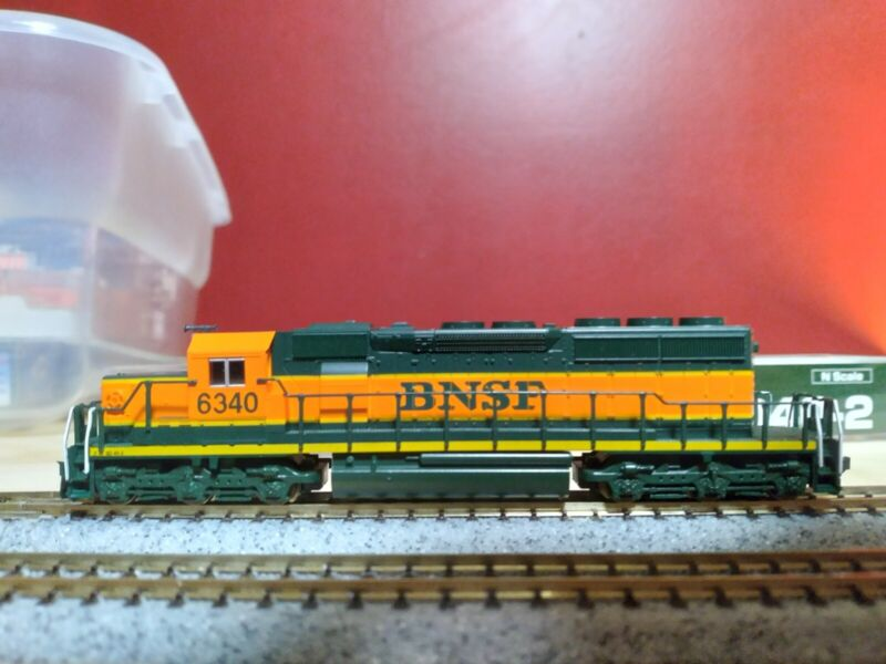 Kato BNSF Snoot Nose Sd40-2 N Scale Dcc Ready