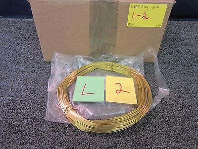 MILITARY SURPLUS COPPER ALLOY WIRE AIRCRAFT B-1B 0.032 NEW