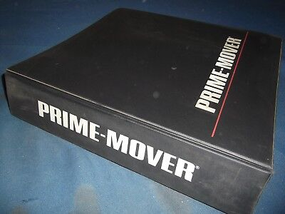 Prime Mover Rr-30b Reach Truck Forklift Service Shop Repair Workshop Manual