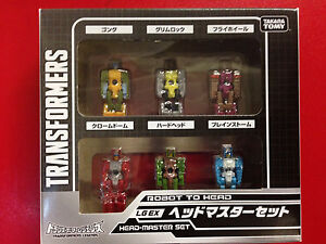 Transformers Takara Legend Exclusive LG-EX Headmaster Set of 6 NEW