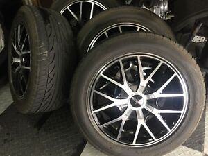 ford focus rims and tires, 205 55 16""