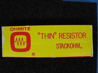 Ohmite Thin 75 Ohm 55 Watt F512 Stackohm Wirewound Resistor Nib