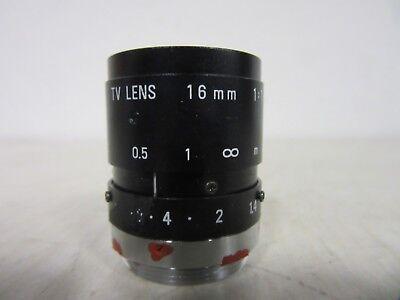 Pentax C1614-M 1:1.4 16mm TV Lens Objektiv