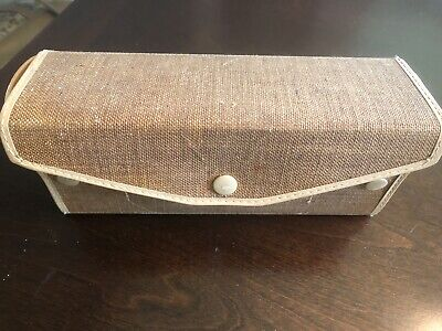 Vintage Sears Kenmore Buttonhole Attachment+Manual+Case W654321N
