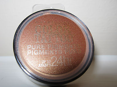 Bronze Pure Eye Shadow (4 MAYBELLINE COLOR TATTOO PURE PIGMENTS EYE SHADOW #35 BREAKING BRONZE)