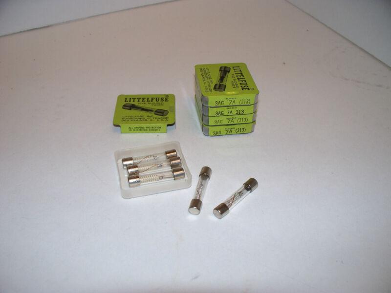 MDL-7 AMP 250V  TIME DELAY FUSE   LITTLEFUSE   (PACK OF 5)