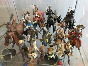 Medieval times knights horses sword shield collectibles