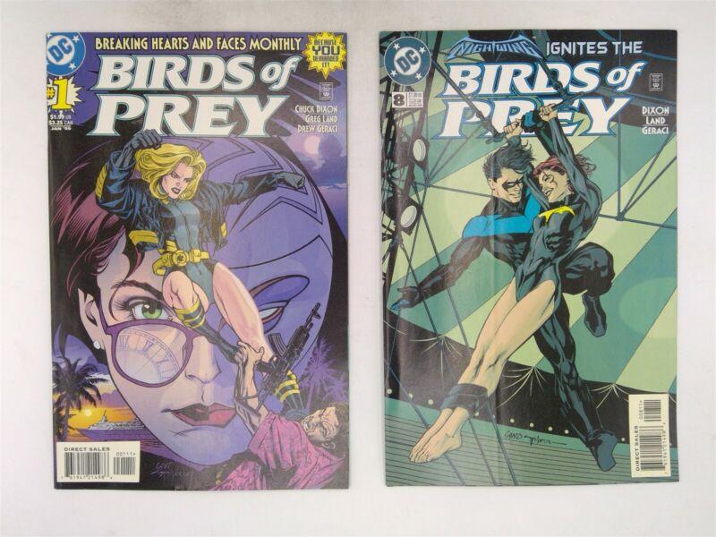 Birds of Prey #1-18 & 21 DC Comics 1999 FN-VF